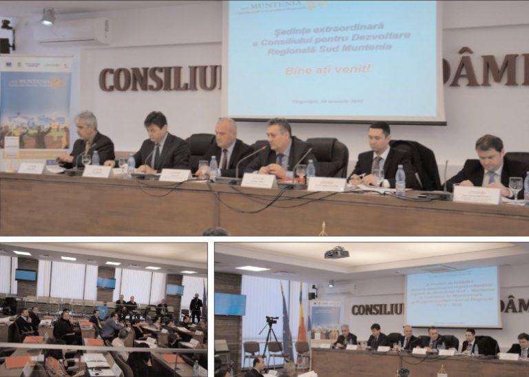 Preşedintele Consiliului Judeţean Dâmboviţa, Alexandru Oprea, este noul preşedinte al Consiliului pentru Dezvoltare Regională Sud Muntenia