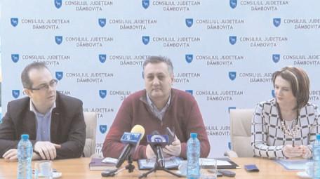în comunele Moroeni, Cojasca şi Corbii Mari, se vor implementa proiecte depuse de CJ pe POCU