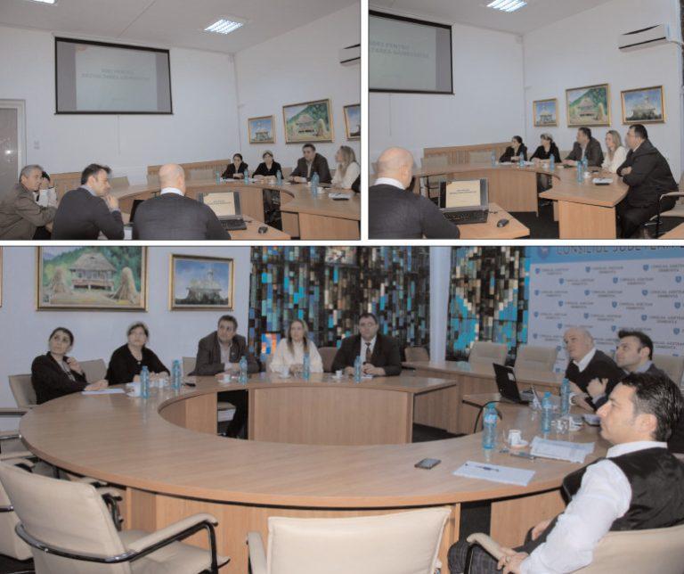 La Consiliul Judeţean Dâmboviţa, întâlnire cu reprezentanţii Băncii Mondiale