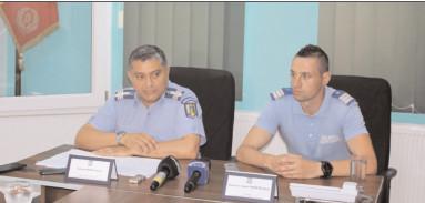 Inspectoratul de Jandarmi Judeţean Dâmboviţa la ora bilanţului pe luna iunie