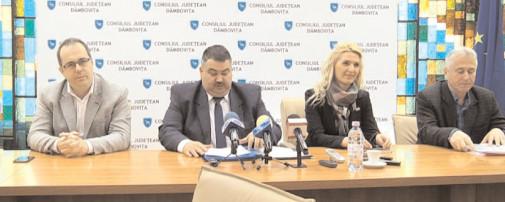 Preşedintele Daniel Comănescu şi echipa CJ Dâmboviţa au o preocupare constantă privind implementarea proiectelor de interes major pentru judeţul Dâmboviţa