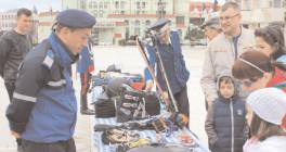 Jandarmeria Dâmboviţa, în haine de sărbătoare