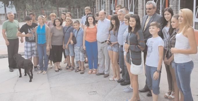 Tabără pentru elevii din Raionul Ştefan Vodă, Republica Moldova – 2018, în judeţul Dâmboviţa