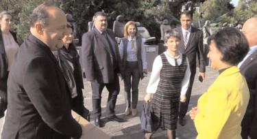 Ambasadorul Croaţiei la Bucureşti, Davor Vidis a făcut o donaţie Muzeului Poliţiei