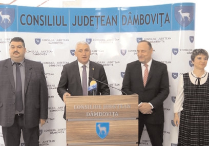 Vizita Ambasadorului Croaţiei la Bucureşti, Davor Vidis în Dâmboviţa