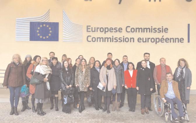 CJ Dâmboviţa, în vizită de studiu la Bruxelles, organizată de Reprezentanţa Comisiei Europene