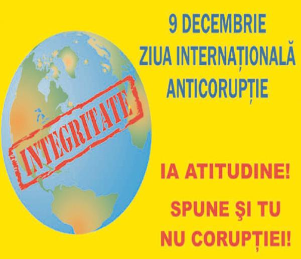 9 decembrie, Ziua Internaţională Anticorupţie
