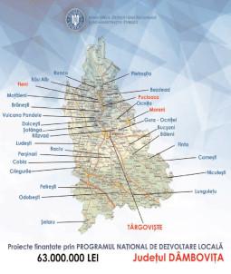 S-a alocat de la Guvern, 63.000.000 lei pentru investiţii majore în 30 de localităţi dâmboviţene