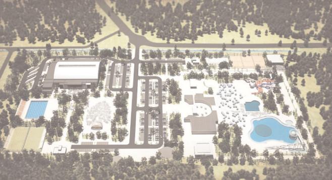 Un parc de cinci hectare va fi amenajat lângă Complexul de Nataţie