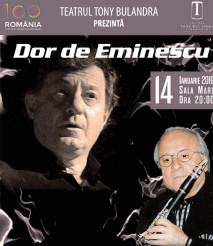 """Teatrul Tony Bulandra Târaoviste """"Dor de Eminescu"""""""