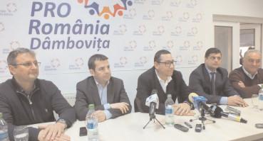 Victor Ponta va deschide lista Pro România pentru alegerile europarlamentare