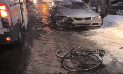 Biciclist accidentat mortal