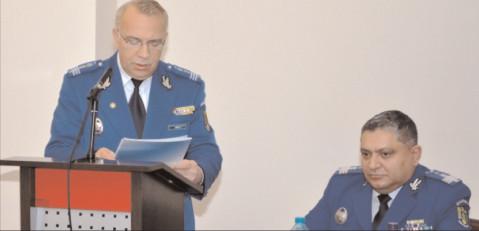 Jandarmeria Dâmboviţa, la ora bilanţului