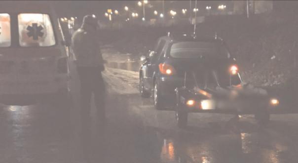 A fugit de la locul accidentului, însă poliţiştii au pus mâna pe el