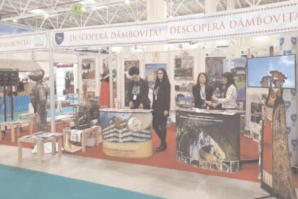 Judeţul Dâmboviţa prezent la Târgul de Turism al României între 21 şi 24 februarie 2019, în Pavilioanele B1 şi B2 din Centrul Expozitional ROMEXPO