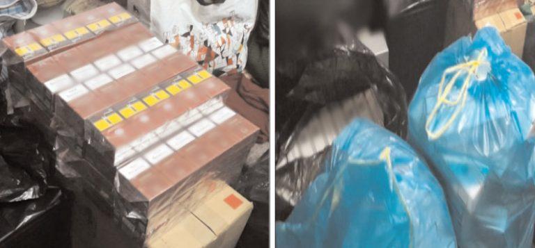 Mascaţii au descins la contrabandiştii de ţigări din Găeşti