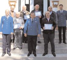 Veteranii sărbătoriţi la Jandarmeria Dâmboviţa