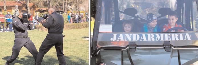 În Parcul Chindia, evenimente dedicate celor 169 de ani de la înfiinţarea JANDARMERIEI ROMÂNE