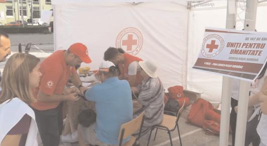 Ziua Mondială a Sănătăţii, marcată cJe Crucea Roşie şi DSF3 Dâmboviţa