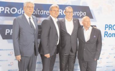 Discursuri bine ţintite şi mult entuziasm la lansarea candidaţilor Pro România