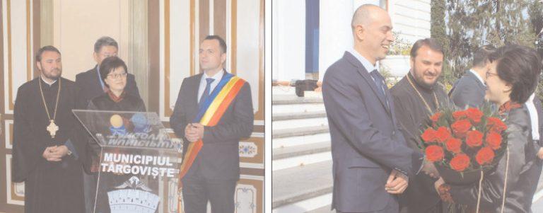 E.S. Jiang Yu, ambasadorul Republicii Populare China în România, în vizită la Primăria Târgovişte