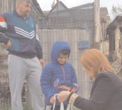 Gest de umanitate pentru familia Maria din comuna Răzvad