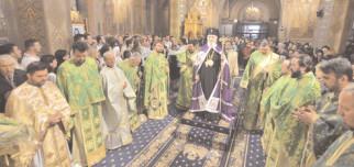 SĂRBĂTOAREA INTRĂRII DOMNULUI ÎN IERUSALIM LA CATEDRALA DIN TÂRGOVIŞTE