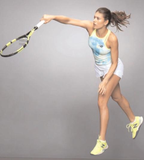 SORANA CIRSTEA A URCAT DOUĂ L^O^ URI IN (MSAMENTUL WTA