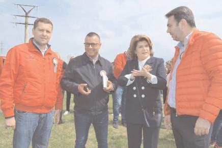 De Florii, locuitorii din Ulmi au sărbătorit Ziua Comunei alături de ministrul Rovana Plumb