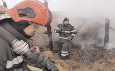 În ultima săptămână, pompierii dâmboviţeni au intervenit la peste 30 de evenimente