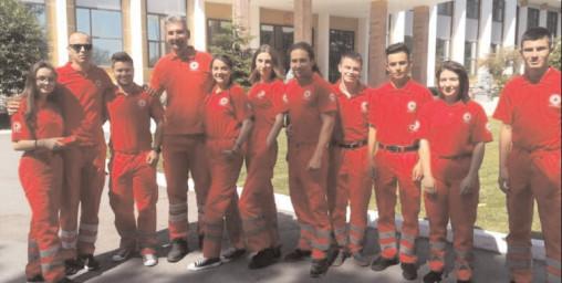 """Crucea Roşie Dâmboviţa a fost invitată la """"Predarea Ştafetei"""""""
