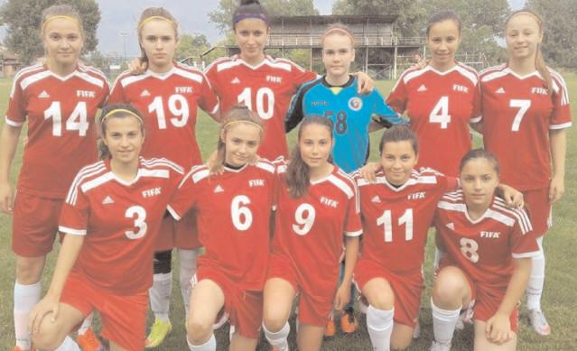CSŞ Târgovişte, pe locul 5 la Campionatul Naţional de Fotbal feminin sub 15 ani