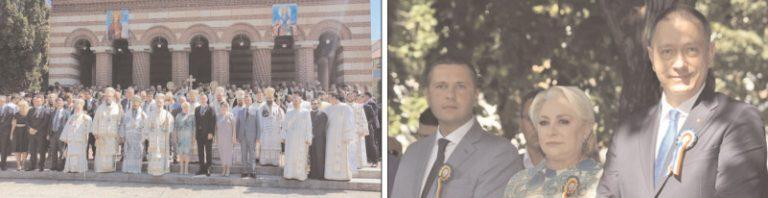 Premierul Viorica Dăncilă şi Mihai Fifor au participat la sărbătoarea Sf. Ier. Nifon, patriarhul Constantinopolului, de la Târgovişte