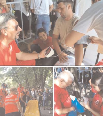 Cruce Roşie Dâmboviţa a dat dovadă de mobilizare exemplară la sărbătoarea Sfântului Ierarh Nifon, organizată de Catedrala Arhiepiscopală şi Mitropolitană din Târgovişte
