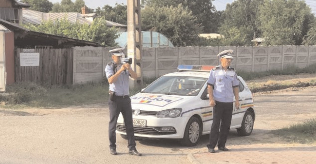 Excesul de viteză, sancţionat de poliţişti