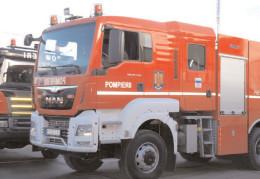 """Pompierii dâmboviţeni, prezenţi la Festivalul """"Padina Folk"""""""