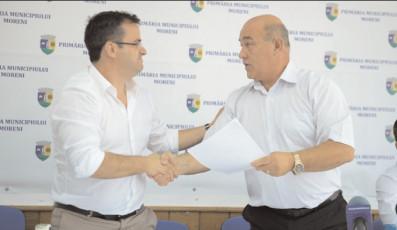 Moreni: Modernizarea Străzii 22 Decembrie -DJ 710A a intrat în linie dreaptă