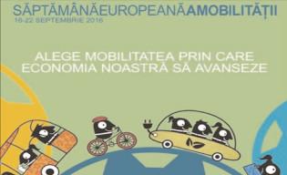 Săptămâna Europeană a Mobilităţii