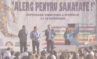 900 de tineri au participat la crosul desfăşurat în oraşul Pucioasa