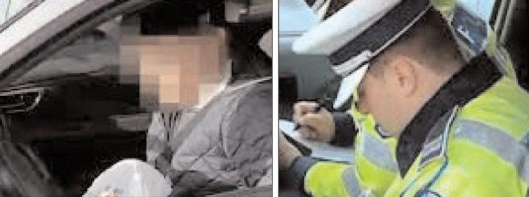 Un bărbat de 25 de ani, din Ludeşti, cercetat de poliţiştii de la rutieră