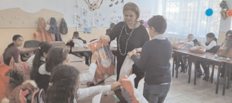 O lume de poveste la clasa a lll-a, Şcoala Corneşti
