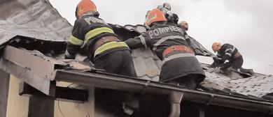 Incendiu la o casă din comuna Răzvad