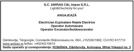 S.C. AMIRAS C&L Impex S.R.L. Light&EIectricity for you!