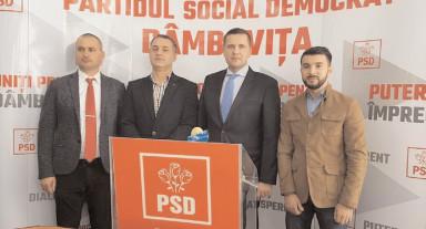 PSD Dâmboviţa îşi desemnează candidatul pentru funcţia de preşedinte CJ Dâmboviţa
