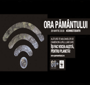 Participare digitală la marcarea Orei Pământului