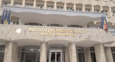 Prefectura Dâmboviţa a dispus constituirea comisiilor de constatare şi evaluare a pagubelor la culturile agricole afectate de secetă în anul 2020