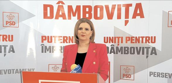 Deputatul PSD Dâmboviţa, Claudia Gilia: Aproape zilnic, preşedintele lohannis încalcă flagrant funcţia de a veghea la respectarea Constituţiei
