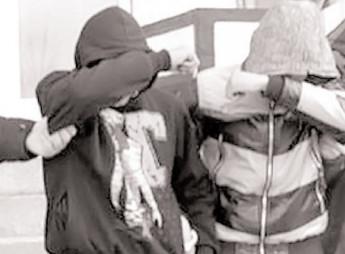 Reţinuţi pentru lovire sau alte violenţe şi violare de domiciliu