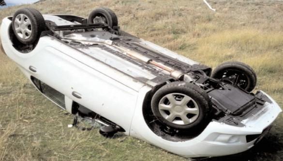 Accident de circulaţie uşor, produs pe drumul judeţean 711A