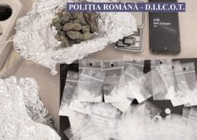 PERCHEZIŢII LA PERSOANE BĂNUITE DE TRAFIC DE DROGURI DE MARE RISC